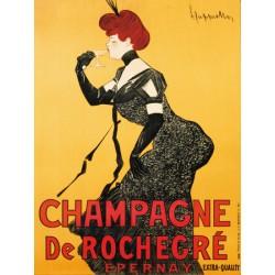 CHAMPAGNE DE ROCHEGRÉ, CA. 1902