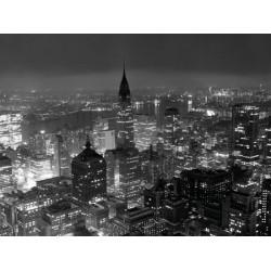 NEW YORK CITY AT NIGHT, 1957