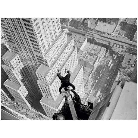 HEADSTAND OVER MANHATTAN, 1939