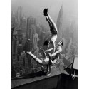 ACROBATS PERFORMING ON THE EMPIRE STATE BUILDING, 1934
