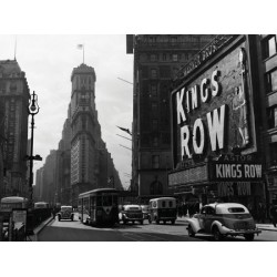 VIEW OF TIMES SQUARE, 1942