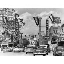CASINO SIGNS ALONG LAS VEGAS STREET, CA. 1954