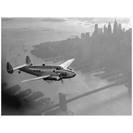 AIRPLANE ABOVE MANHATTAN, 1938