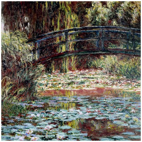 LE BASSIN AUX NYMPHEAS A GIVERNY