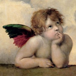 ANGELO I - MADONNA SISTINA (DETAIL)
