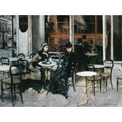 CONVERSAZIONE AL CAFFÉ, PARIGI