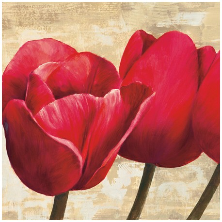 RED TULIPS (DETAIL)