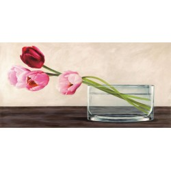 MODERN COMPOSITION, TULIPS