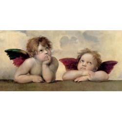 ANGELI - MADONNA SISTINA (DETAIL)