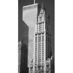 WOOLWORTH BUILDING AND WORLD TRADE CENTER