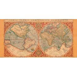 ORBIS TERRAE COMPENDIOSA DESCRIPTIO, 1587