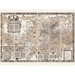 NOVA ET AUCTA ORBIS TERRAE DESCRIPTIO, 1569