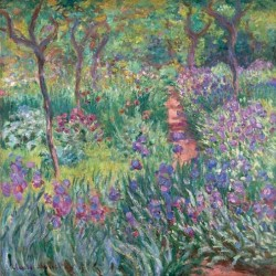 THE ARTIST'S GARDEN AT GIVERNY