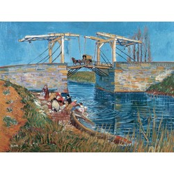 LANGLOIS BRIDGE WITH WOMEN WASHING