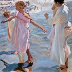 TIME FOR A BATHE, VALENCIA
