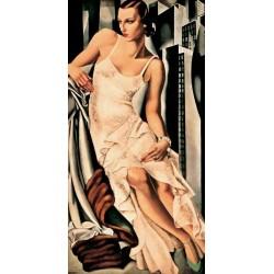 PORTRAIT DE MADAME ALLAN BOTT (DETAIL)