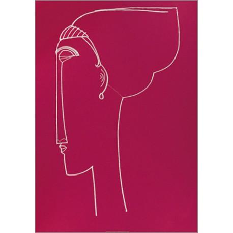 HEAD PROFILE, 1911