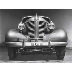 FRONT GRILLE OF A 1938 PONTIAC