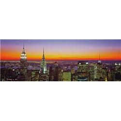 MIDTOWN MANHATTAN AT SUNSET, NYC