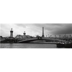 PONT ALEXANDRE-III AND EIFFEL TOWER (DETAIL)