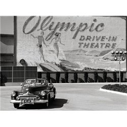 OLYMPIC DRIVE-IN THEATER