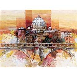 Lienzos para cuadros de ciudades - Enmarcar lienzo ...