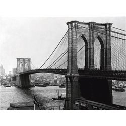 BROOKLYN BRIDGE, NEW YORK, 1900