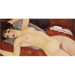 RECLINING NUDE (DETAIL)