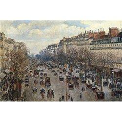 BOULEVARD MONMARTRE À PARIS