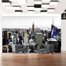 Fotomural Rascacielos iridiscentes