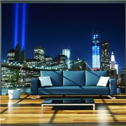 Fotomural Floodlights over NYC