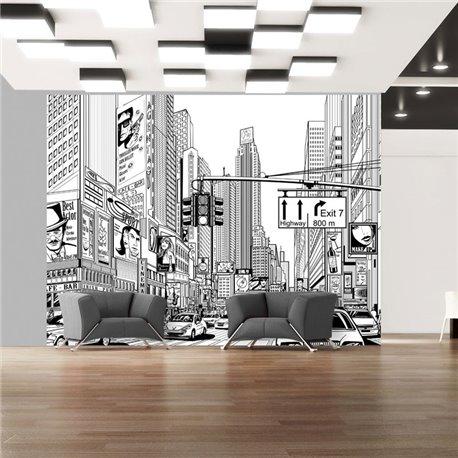 Fotomural Las calles de Nueva York
