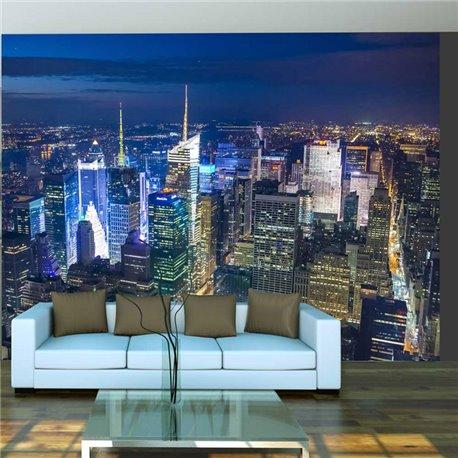 Fotomural Manhattan Noche