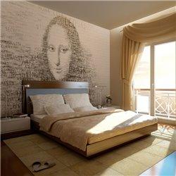 Fotomural Mona Lisa en el Pensamiento