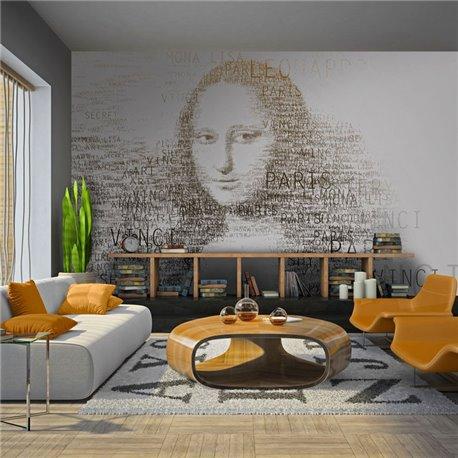Fotomural Notas de Leonardo Da Vinci