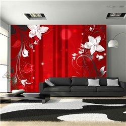 Fotomural Flor escarlata