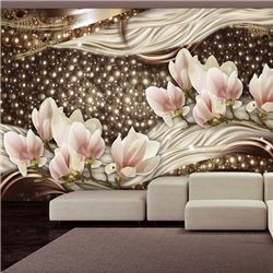 Fotomural Pearls and Magnolias