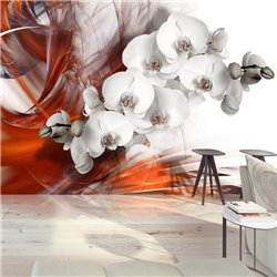 Fotomural Orchid on fire II