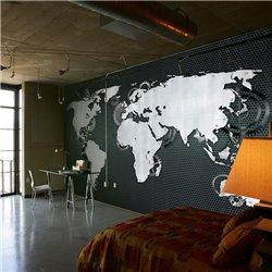 Fotomural Mapamundi de Diseño