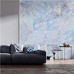 Fotomural Mosaico De Mármol Azul