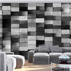 Fotomural Mosaico De Ébano