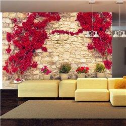 Fotomural Muro Alegria Floral