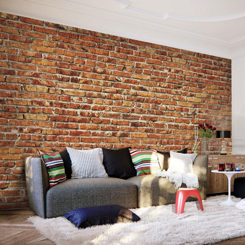 Foto Murales imitación Pared de Ladrillos - A1-2XLFT311