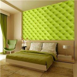 Fotomural Acolchado Verde Limón