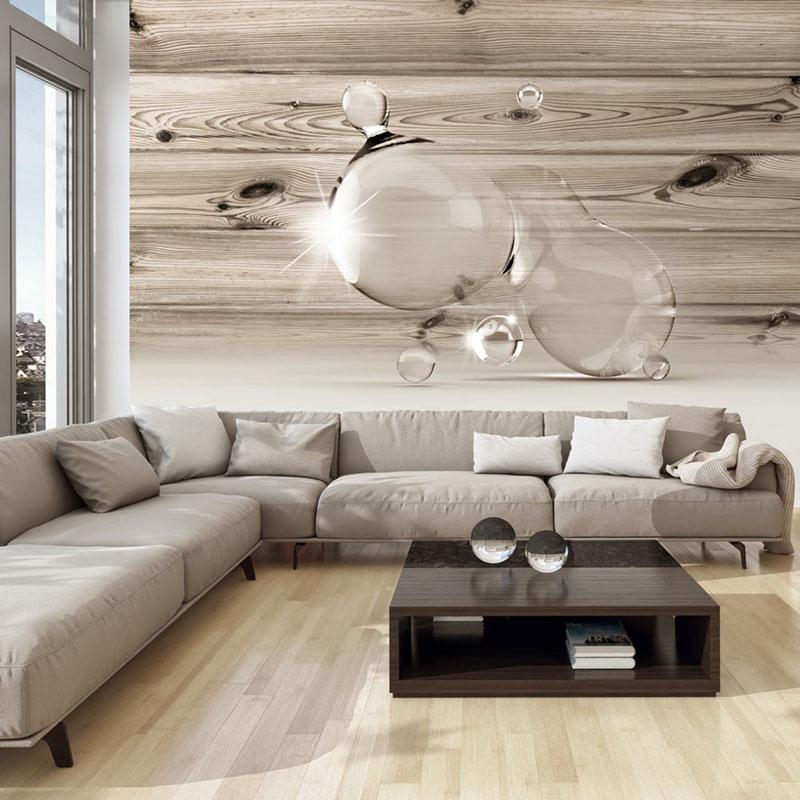 Foto murales surrealista burbujas de madera a1 xxlnew011497 - Murales de madera ...