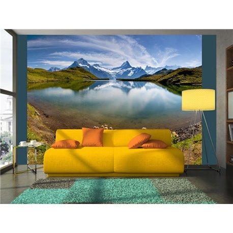 Fotomural Swiss Lake