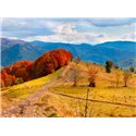 Fotomural Mountain In Autumn