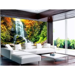 Fotomural Zen Waterfall