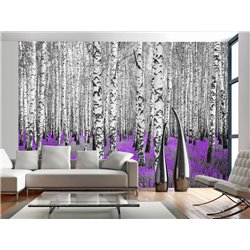 Fotomural Forest Purple