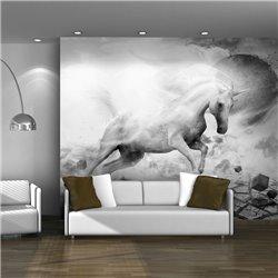 Fotomural Unicornio Blanco